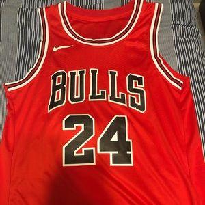 NWOT Chicago Bulls #24 Lauri Markkanen Jersey